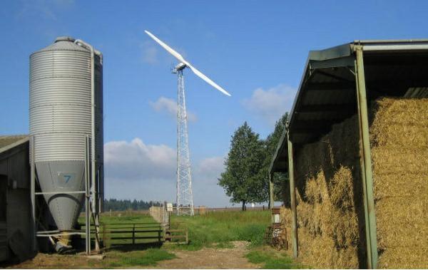 Canada Alberta Wind Farm 2014
